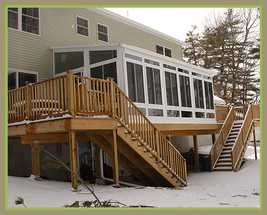 Additional 3 Season Sunroom and Deck Merrimac, MA