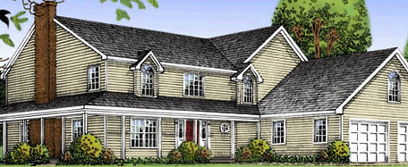 Colonial maplewood for Maplewood custom homes